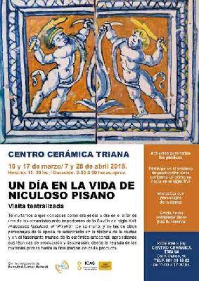 Visita Un día en la vida de Pisano en Centro Cerámica Triana Sevilla