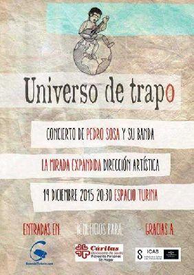 Concierto: Universo de Trapo en la Sala Turina de Sevilla