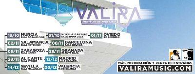 Cartel de la gira 2019 de Valira