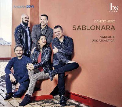 Portada del disco Cancionero de La Sablonara del grupo Vandalia