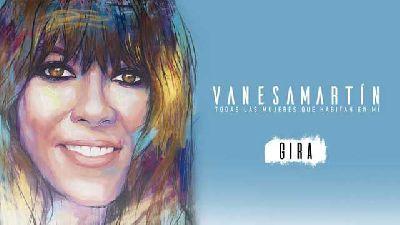 Cartel de la gira Todas las mujeres que habitan en mí de Vanesa Martín
