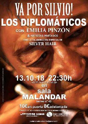 Concierto: ¡Va por Silvio! Los Diplomáticos en Malandar Sevilla 2018