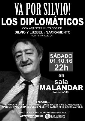 Concierto: ¡Va por Silvio! Los Diplomáticos en Malandar Sevilla