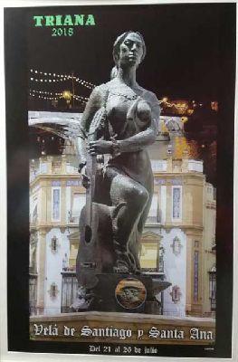 Velá de Santiago y Santa Ana de Triana Sevilla 2018