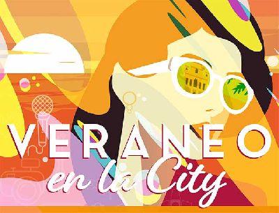 Cartel del ciclo Veraneo en la city Sevilla 2020