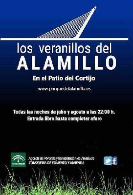 Veranillos del Alamillo en Sevilla (julio 2018)