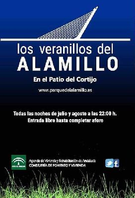 Veranillos del Alamillo en Sevilla (agosto 2018)