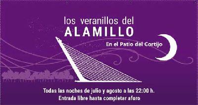 Cartel de los Veranillos del Alamillo 2019 en Sevilla