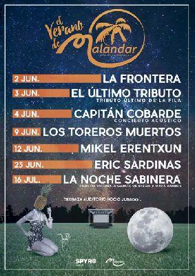 Ciclo de conciertos El verano de Malandar 2016 en Sevilla