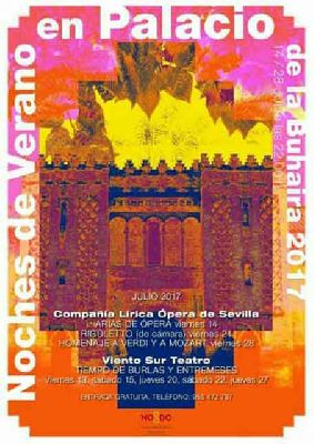 Noches de verano en el Palacio de la Buhaira de Sevilla (2017)