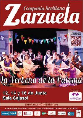Zarzuela: La Verbena de la Paloma en sala Joaquín Turina Sevilla