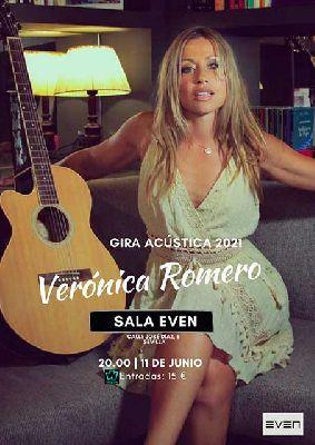 Cartel del concierto de Verónica Romero en la Sala Even Sevilla 2021