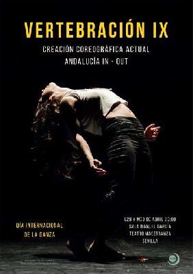 Cartel de Vertebración IX en el Teatro de la Maestranza de Sevilla