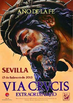 Vía Crucis 2013 de Sevilla