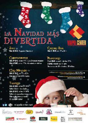 Actividades infantiles de Navidad en Viapol Center Sevilla 2015
