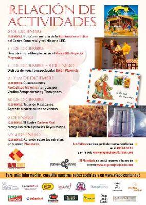 Actividades infantiles de Navidad en Viapol Center Sevilla 2016
