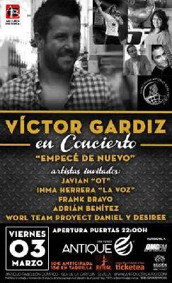 Concierto: Víctor Gardiz en Antique Sevilla