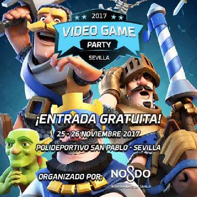 Video Game Party Sevilla
