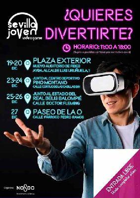 Cartel de Video Game Sevilla joven 2020