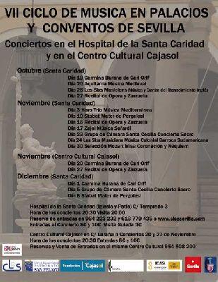 VII ciclo de Música en Palacios y Conventos de Sevilla