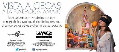 Visita a Ciegas a la Fundación Amalio de Sevilla