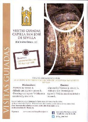 Visitas guiadas a la Capillita de San José Sevilla