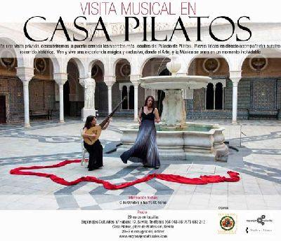 Visita lírica a la Casa de Pilatos de Sevilla (octubre 2013)