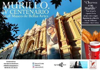 Visitas de Engranajes Culturales a la exposición Murillo IV centenario