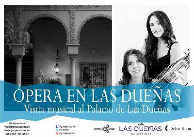 Cartel de Visita musical: ópera en Las Dueñas