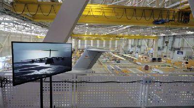 Foto de las visitas al centro Airbus San Pablo de Sevilla