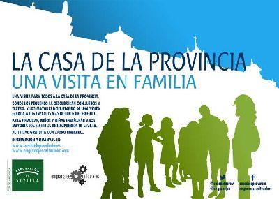 Visitas en familia a la Casa Provincia de Sevilla (otoño 2015)