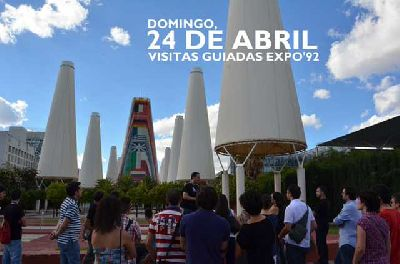 Visitas guiadas Expo 92 Sevilla (abril 2016)