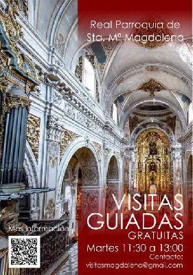 Visitas guiadas a la iglesia de la Magdalena de Sevilla