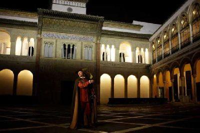 Visitas nocturas al Alcázar de Sevilla