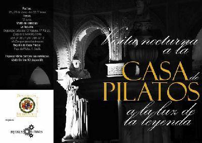 Visitas nocturnas a la Casa de Pilatos de Sevilla (2017)