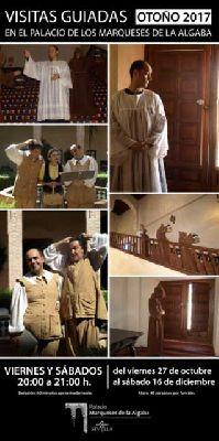 Visitas teatralizadas al Palacio de los Marqueses de la Algaba de Sevilla