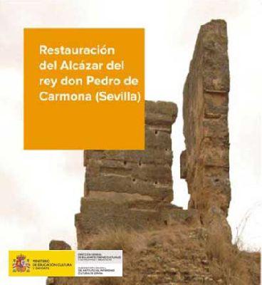 Visitas a la restauración del Alcázar rey don Pedro de Carmona