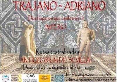 Visitas teatralizadas: Trajano-Adriano en el Antiquarium Sevilla
