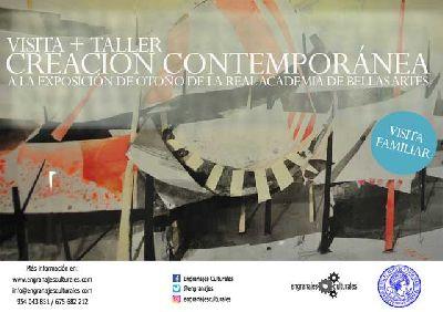 Visitas y taller de creación contemporánea en la Exposición de otoño 2017