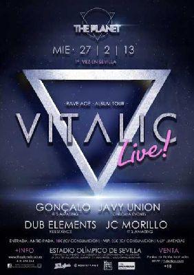 Concierto: Vitalic en Sevilla 2013