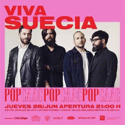 Concierto: Viva Suecia y Ganges en Pop CAAC Sevilla 2018