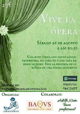 Ruta: Vive la ópera por La Odisea de la Historia en Sevilla