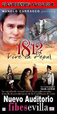 Musical: 1812 Vive la Pepa en Sevilla (Fibes)