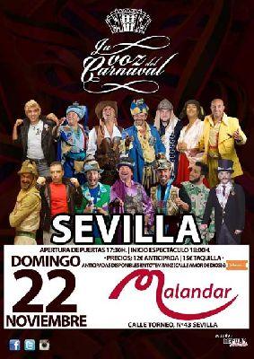 La Voz del Carnaval en Malandar Sevilla