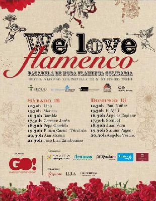 Pasarela flamenca solidaria en el Hotel Alfonso XIII Sevilla