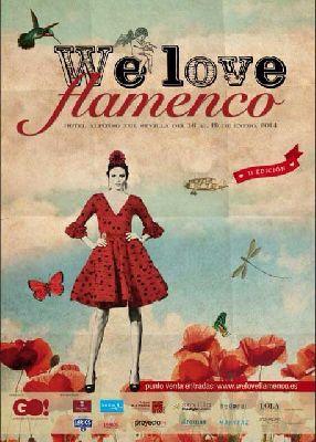 Pasarela We love flamenco 2014 en el Hotel Alfonso XIII Sevilla