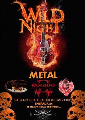 Concierto: Rugido, Steelfire y Dicaprio's Revenge en Malandar