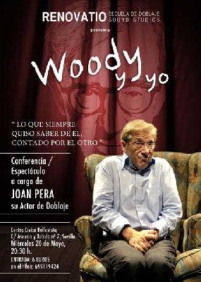 Woody y yo en el Centro Cívico de Bellavista Sevilla