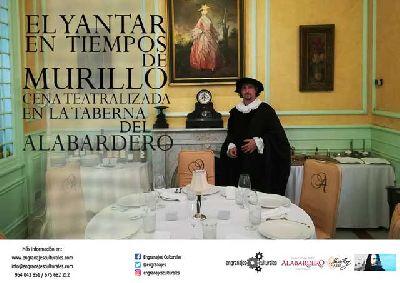 Cena teatralizada El yantar en tiempos de Murillo en Sevilla