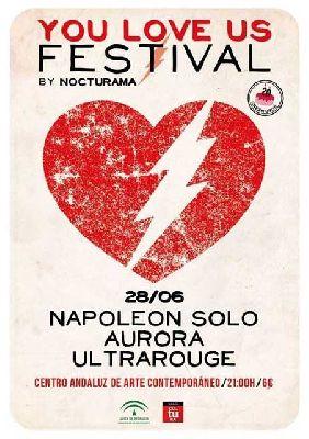 Concierto: Napoleón Solo, Aurora y Ultrarouge en Nocturama 2013